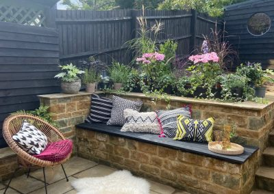 Hard Landscaping to rear garden project